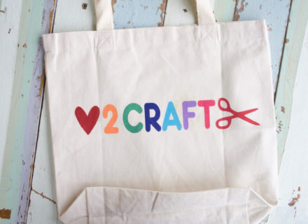 DIY Tote Bag–Fabric Ink Tutorial