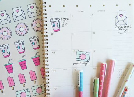 Planner stickers, free download!