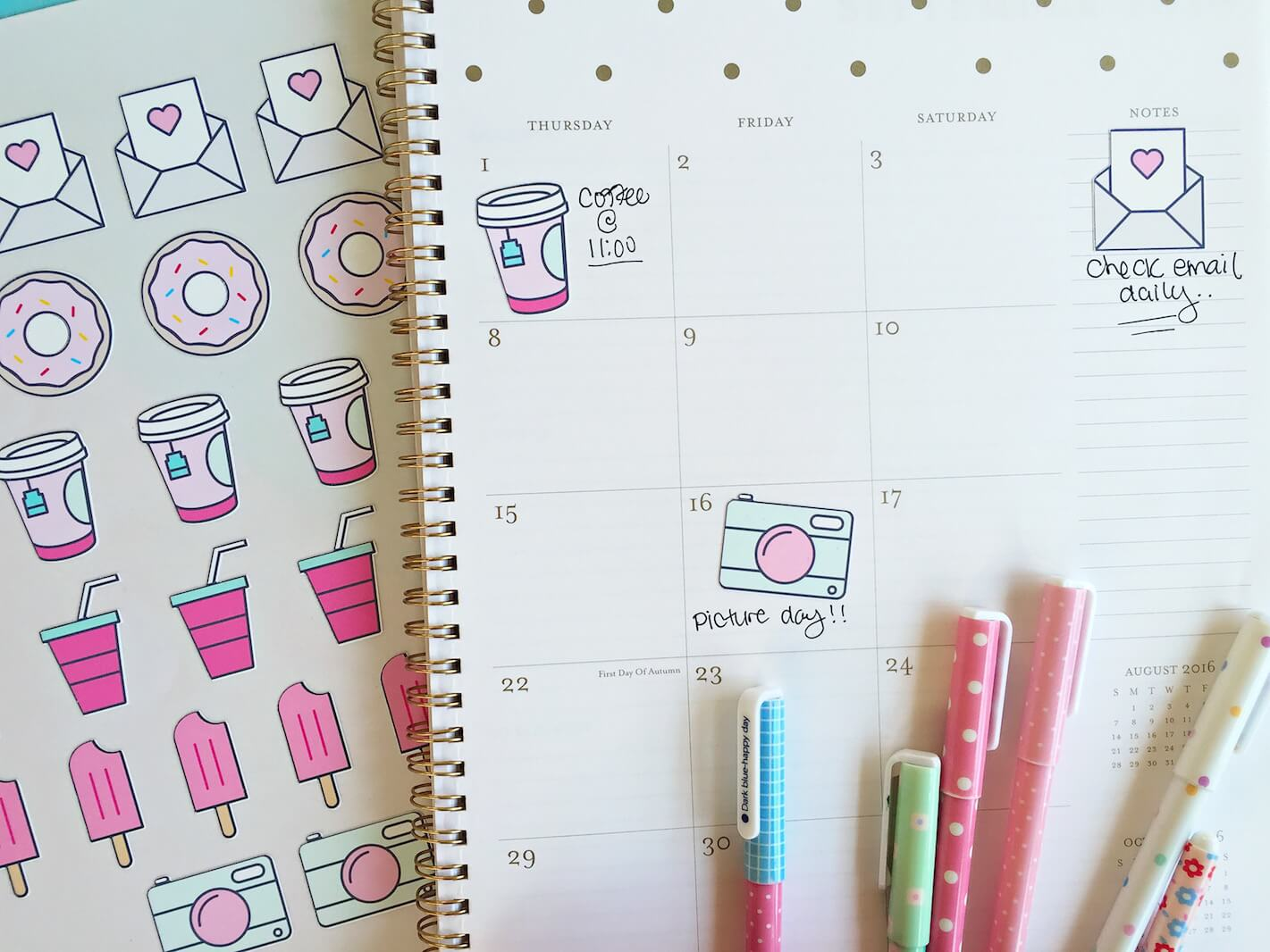 This is a photo of Freebie Planner with regard to kawaii stickers