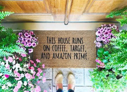 DIY Your Own Door Mats