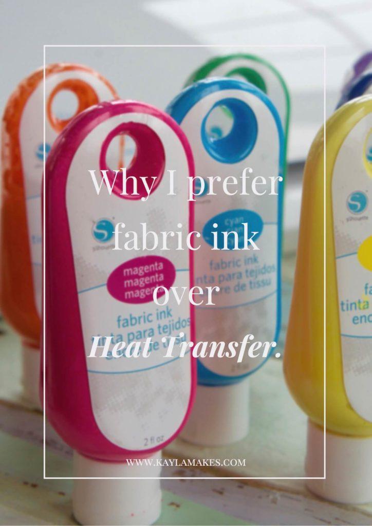 Fabric Ink vs Heat Transfer Material
