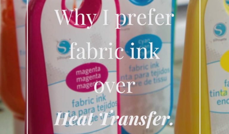 Why I Prefer Fabric Ink Over Heat Transfer Material