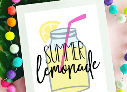 Summer Lemonade Printable