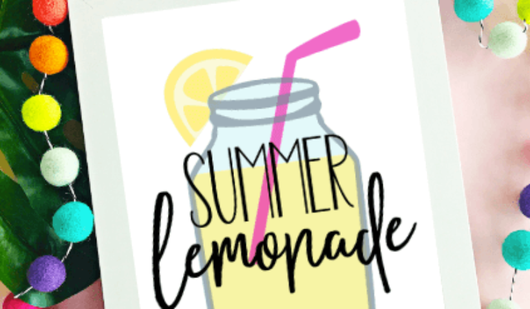 Summer Lemonade Printable