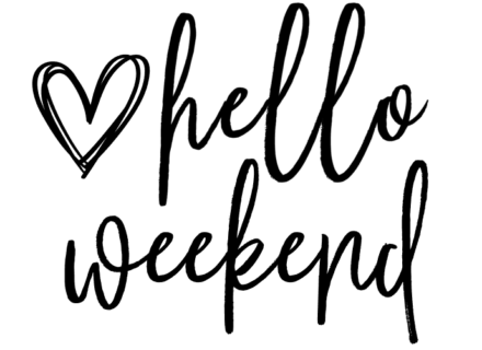 Hello Weekend PNG download