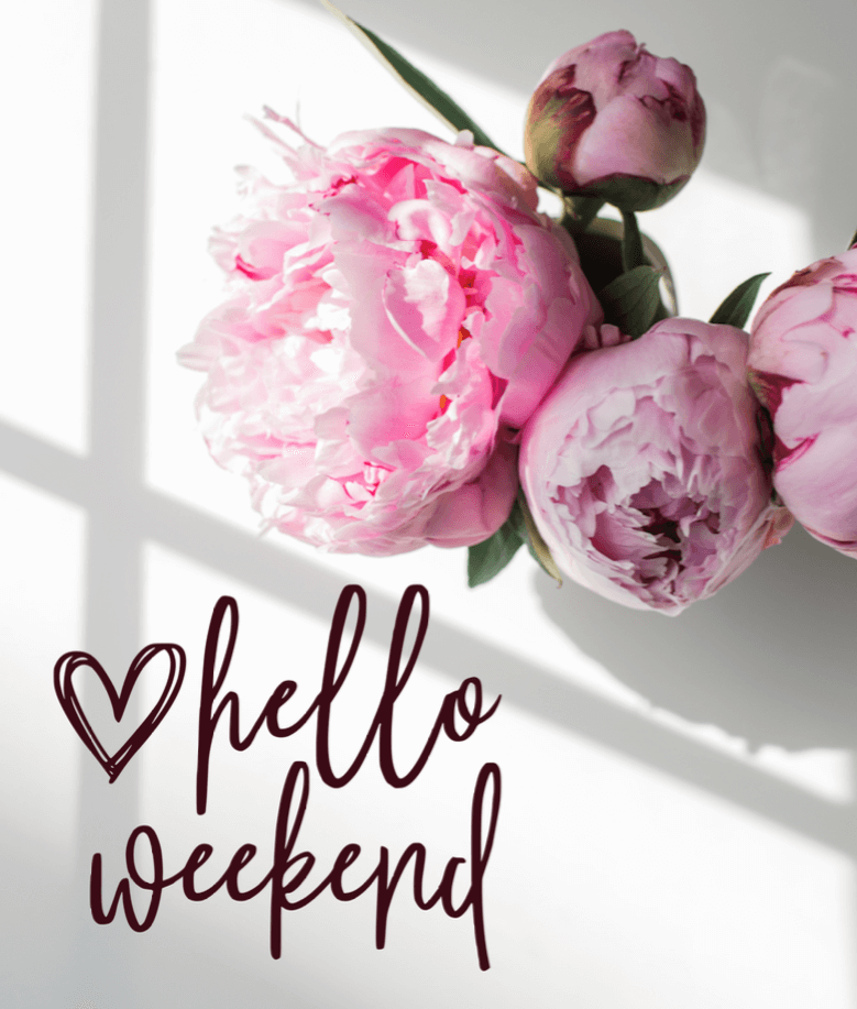 Hello Weekend Png Download Kayla Makes