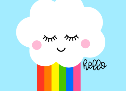 Friday Freebies– Happy Cloud SVG's
