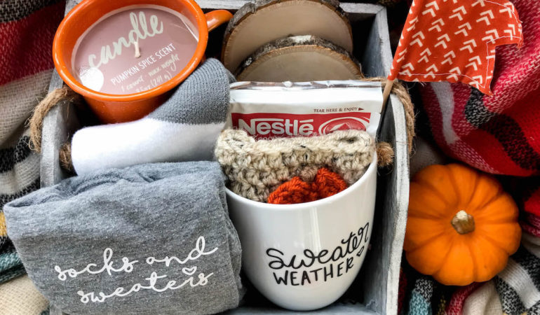 Stay Cozy Fall Gift Idea