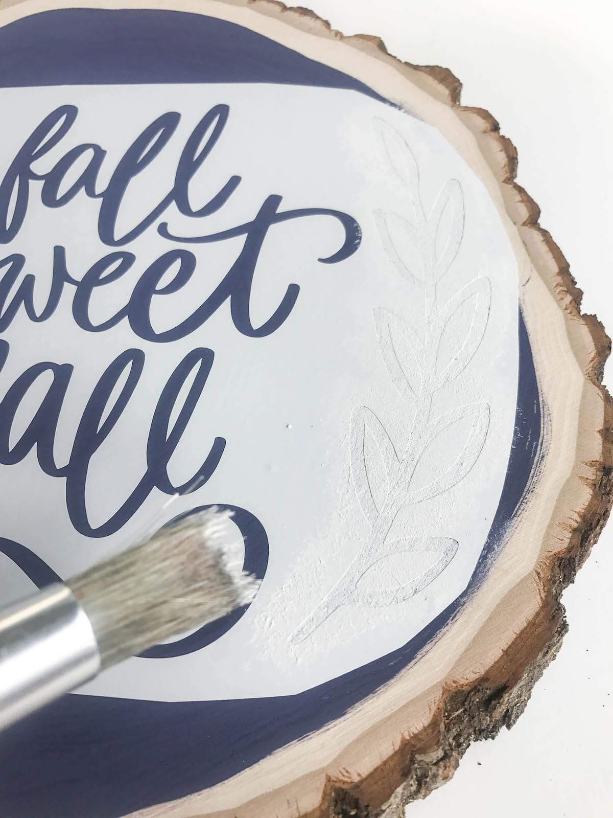 DIY fall inspired craft
