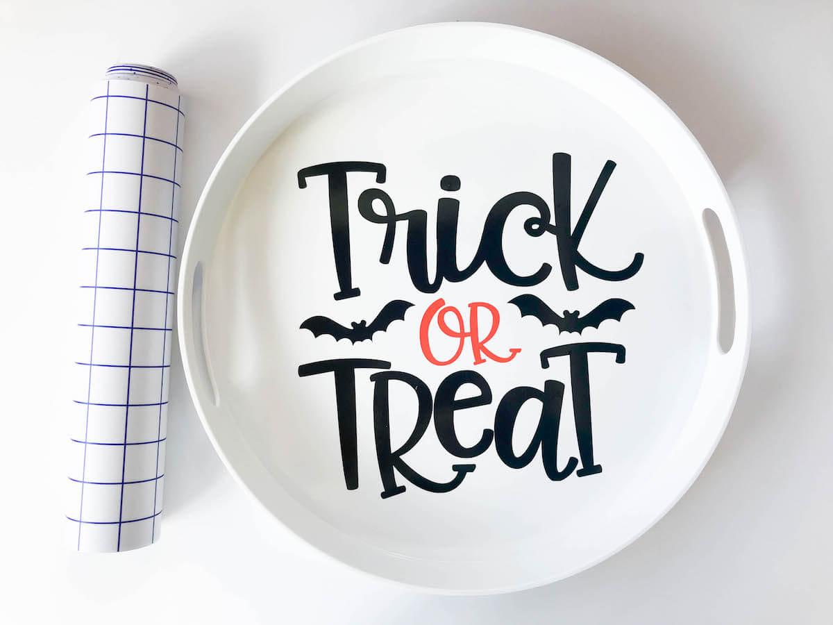 Trick Or Treat Candy Tray Free Cut File Kayla Makes