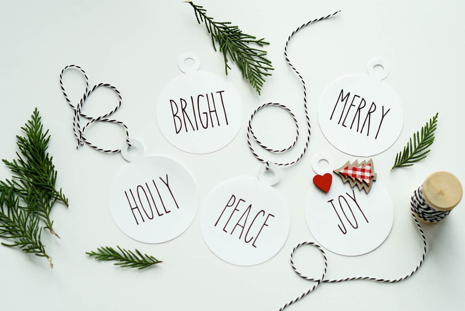 Rae Dunn Inspired Gift Tags