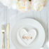 Easy Valentine's Day Place Setting