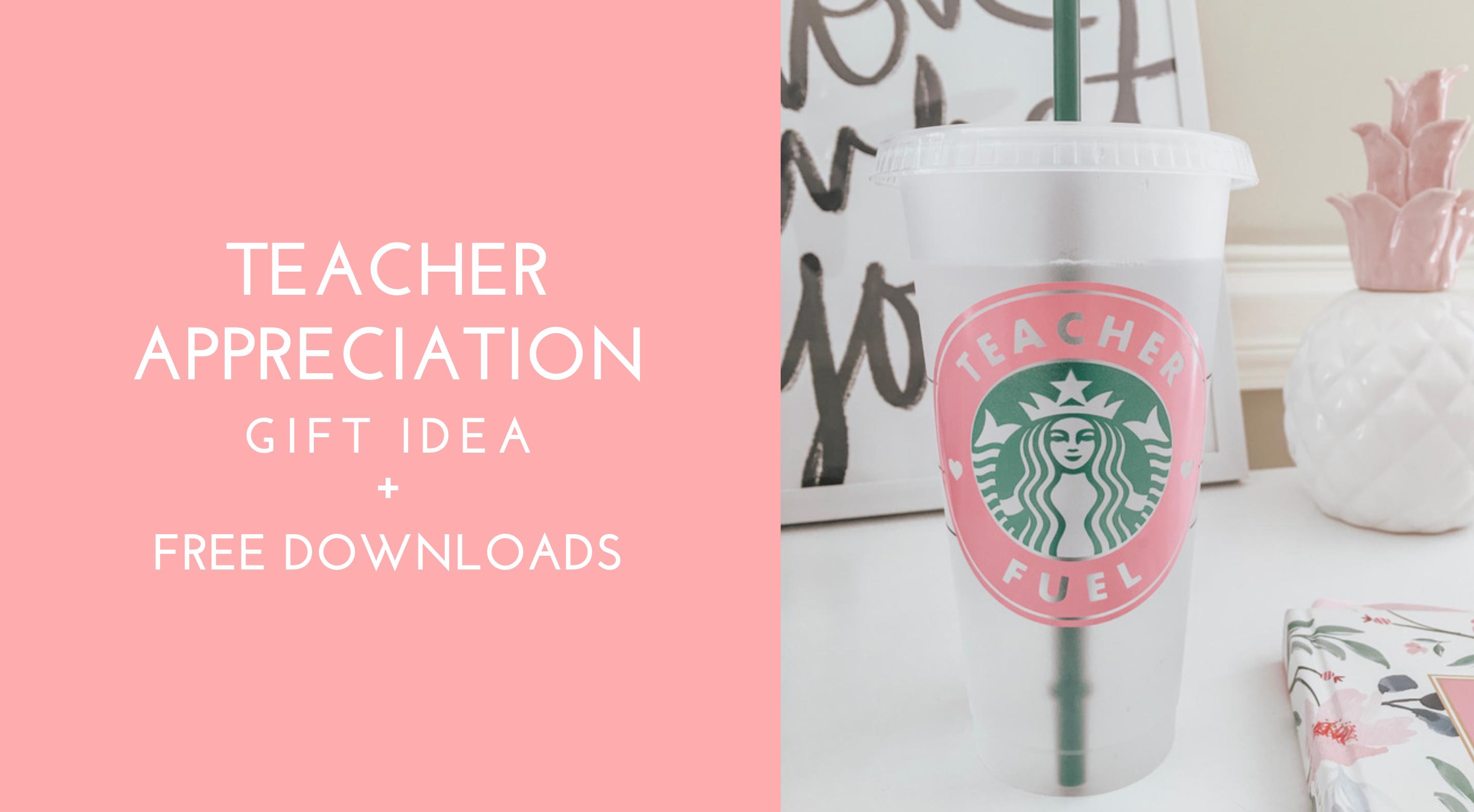 Teacher Appreciation Week Free Downloads Kayla Makes
