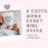 Three Coffee Mugs Every Queen Needs + Free SVG Cut Files