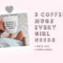 Three Coffee Mugs Every Queen Needs + Free SVG Cut Files