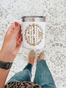 Monogrammed-cup